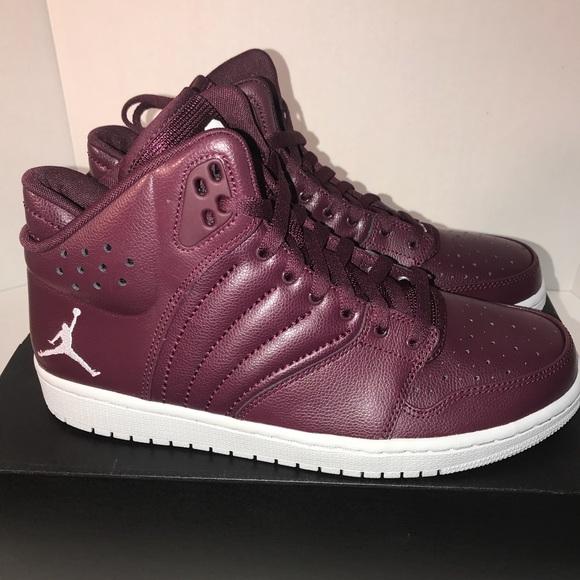 abd7ed560345 Jordan Other - NWB Nike Mens Air Jordan 1 FLIGHT 4 Maroon Size 10